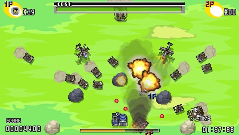 Charge! Tank Squad! PSP It is getting a little crowded.