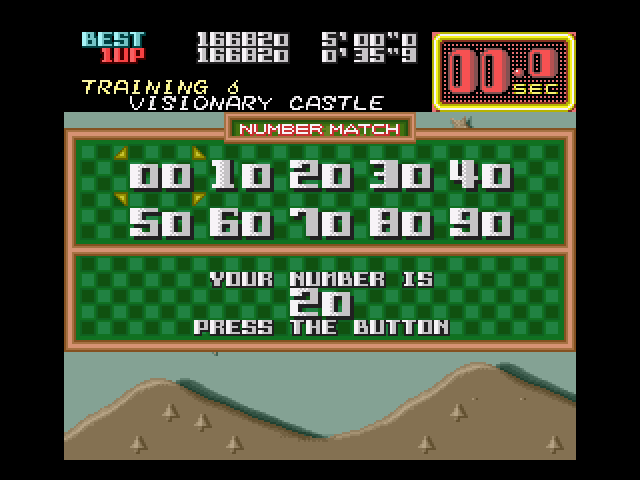 On the Ball SNES Run out of time?  You still get a chance to match numbers for another go.