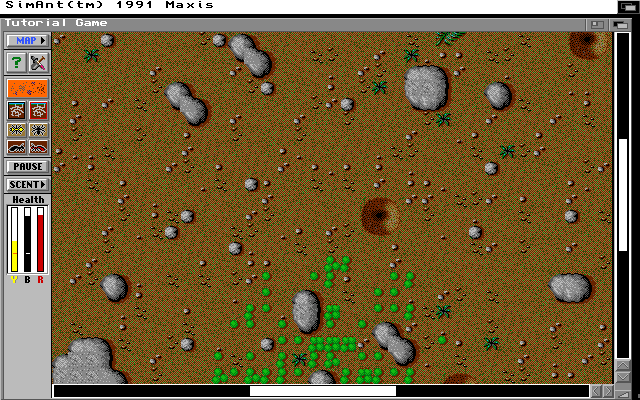 SimAnt: The Electronic Ant Colony Screenshots for Amiga