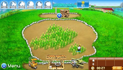 Farm Frenzy: Pizza Party PSP The early beginnings of farming