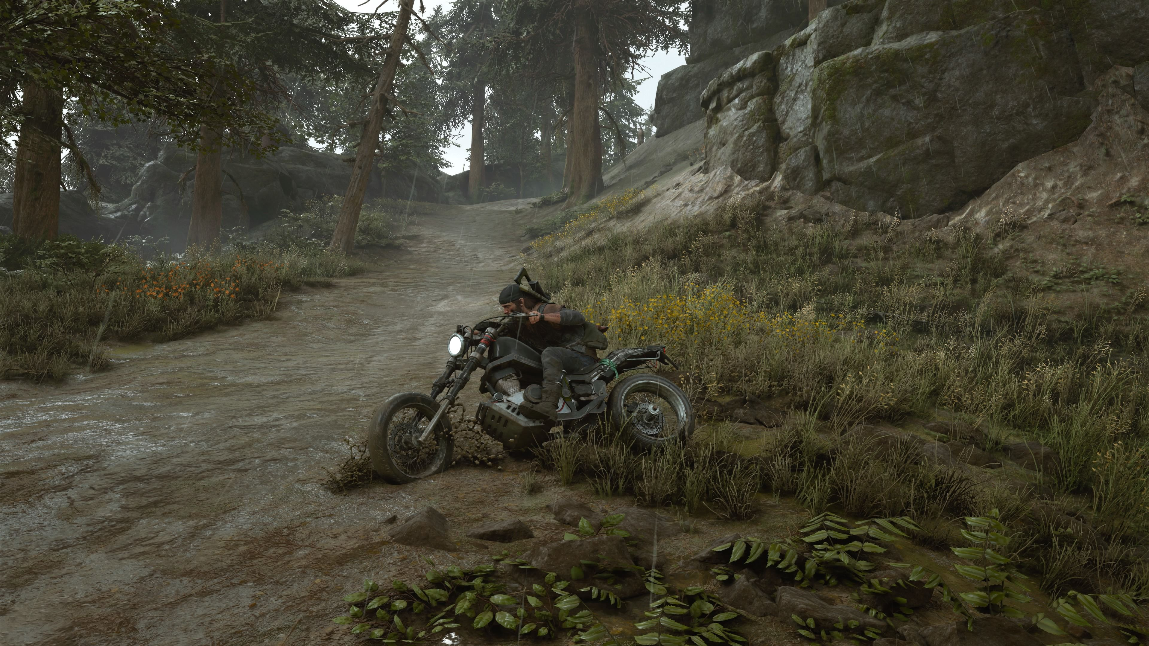 Days Gone PlayStation 4 Sliding is good for quick turns