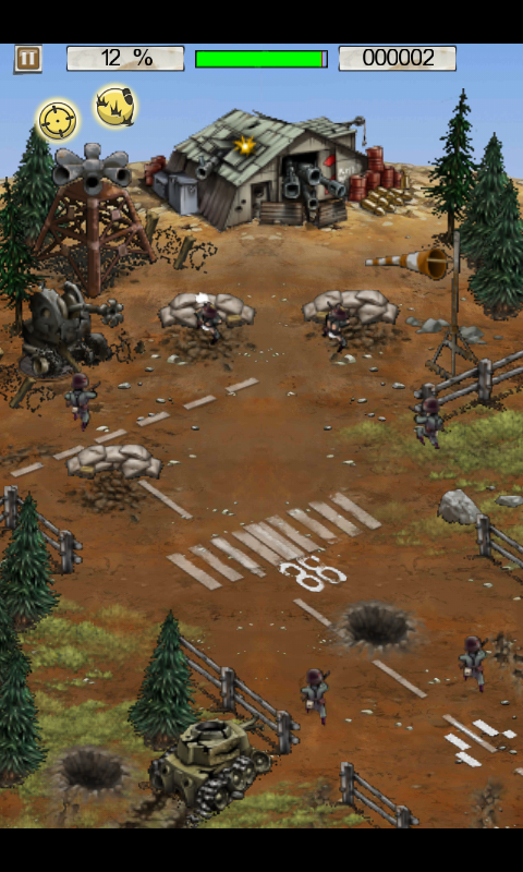 Hills of Glory: WWII Android Second level