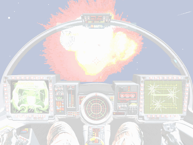 Wing Commander III: Heart of the Tiger DOS BOOOOM