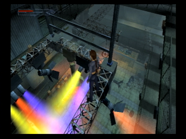 Lara Croft: Tomb Raider - The Angel of Darkness PlayStation 2 You'll have to do some platform jumping in a night club