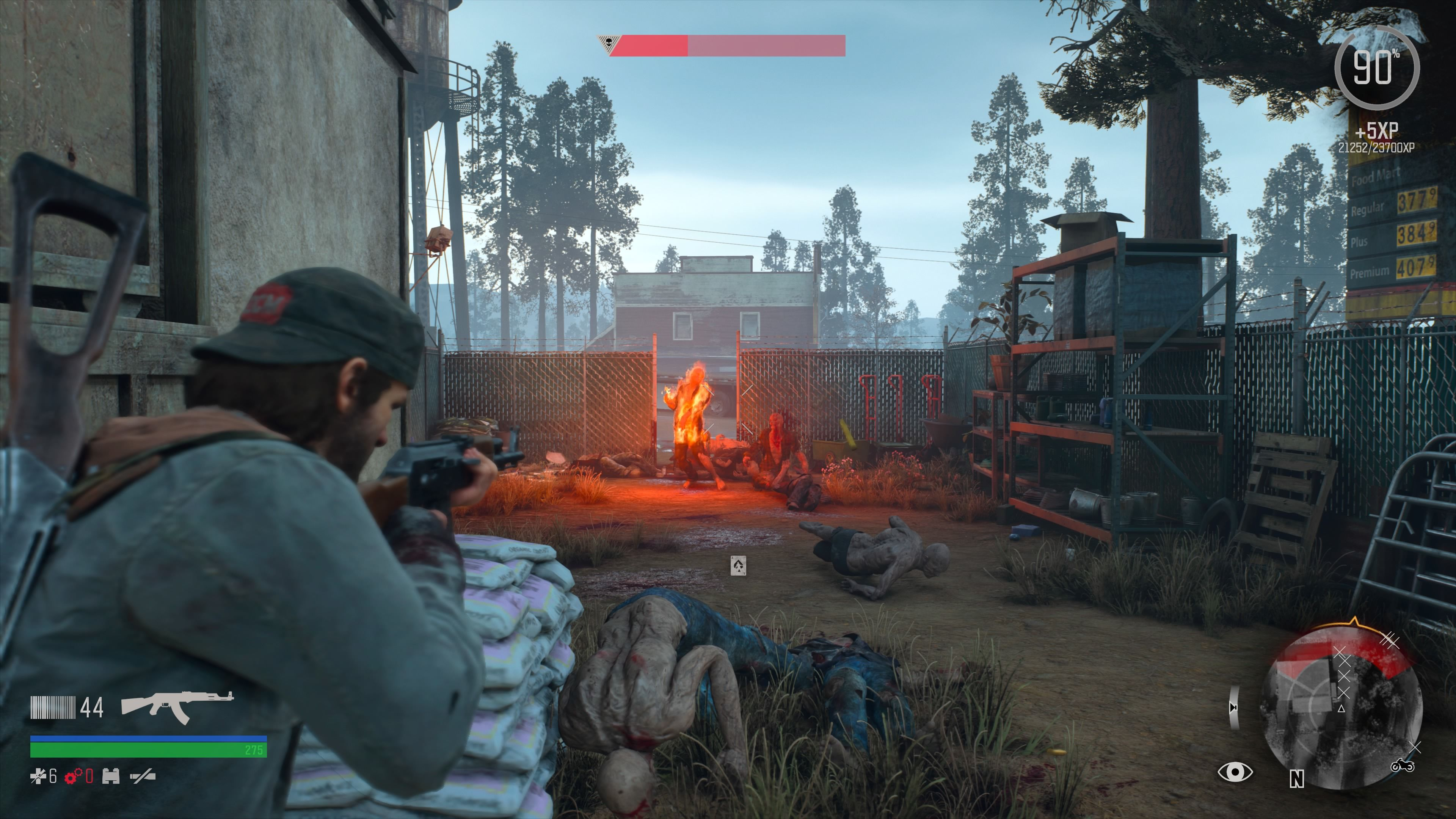 Days Gone PlayStation 4 Molotov cocktails are very useful for burning down a large group of enemies