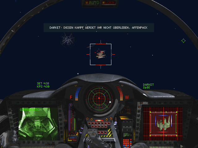 Wing Commander III: Heart of the Tiger DOS Communicating with Kilrathi pilots can be funny sometimes