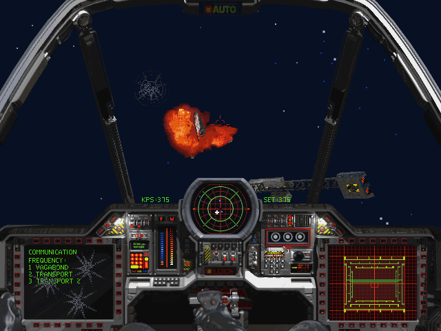 Wing Commander III: Heart of the Tiger DOS A cat less