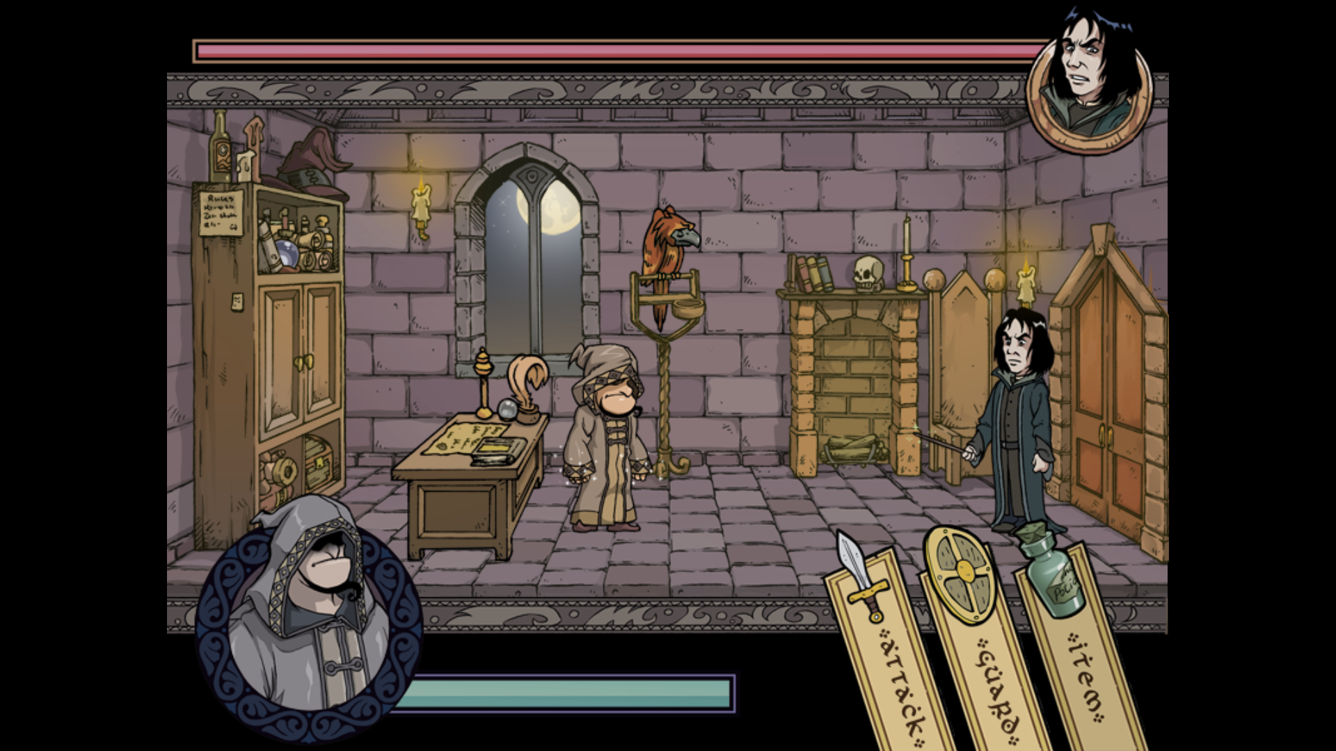 Witch Trainer Windows The fight with Severus Snape