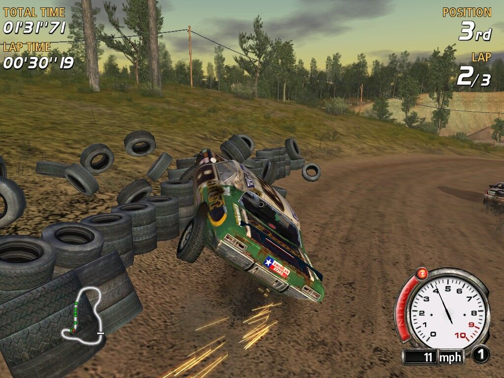FlatOut Windows Collision with tires makes them bounce