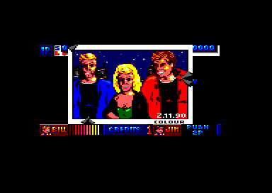 Double Dragon II: The Revenge Amstrad CPC The girlfriend is rescued (64K version)