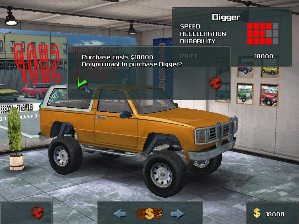 Brought truck named digger