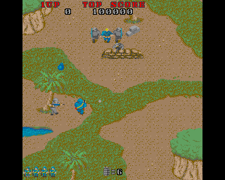 Commando Amiga Protect your fellow commando who is held by two soldiers