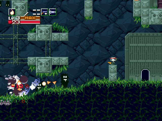 Cave Story Windows Death by Fireballs