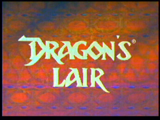 Dragon's Lair 3DO Title screen