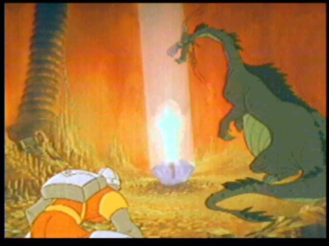 Dragon's Lair 3DO Singe the Dragon
