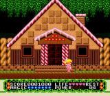 Fushigi no Yume no Alice TurboGrafx-16 Nice house