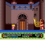 Fushigi no Yume no Alice TurboGrafx-16 The dog really knows how to use that instrument