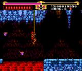 The Legendary Axe TurboGrafx-16 Swinging on a vine
