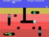 Dig Dug TI-99/4A Beginning the first level