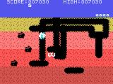 Dig Dug TI-99/4A The last creature is trying to escape