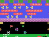Frogger TI-99/4A The frog crosses the road...