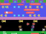 Frogger TI-99/4A Make sure you don't jump into an alligators mouth!