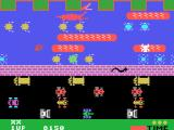 Frogger TI-99/4A A troublesome snake appears on later levels