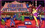 Circus Attractions DOS Titlescreen (EGA)