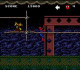 Spider-Man X-Men: Arcade's Revenge SNES This mid-boss isn't much of a problem.