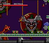 Spider-Man X-Men: Arcade's Revenge SNES In his second level, Wolverine has to kill this red thing before the end of the level.