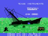 Fathom TI-99/4A Title screen