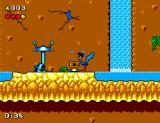 Desert Speedtrap starring Road Runner and Wile E. Coyote SEGA Master System STUNNED!!