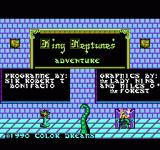 King Neptune's Adventure NES Title Screen