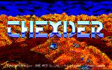 Thexder PC-88 Title screen
