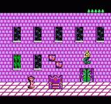 King Neptune's Adventure NES Neptune discovers that all the items have been stolen.