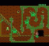 King Neptune's Adventure NES The path is guarded by dragons, use the bubble bomb for instant dragon soup.