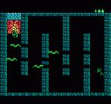 King Neptune's Adventure NES Move carefully between the eels to grab the item.