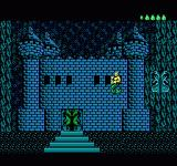 King Neptune's Adventure NES The dark castle