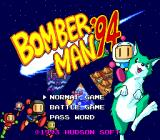Mega Bomberman TurboGrafx-16 Title/Options