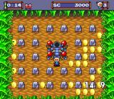 Mega Bomberman TurboGrafx-16 Get the gold coins before time runs out