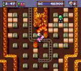 Mega Bomberman TurboGrafx-16 Riding a pink kangaroo