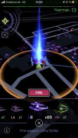 Ingress Prime iPhone Ultra Strikes have a very limited range. They are best utilized when standing directly on top of a portal.