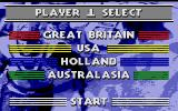 Run the Gauntlet Atari ST Player one, select your team!
