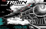 The Train: Escape to Normandy DOS Title Screen