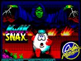 Kwik Snax ZX Spectrum Loading screen