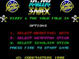 Kwik Snax ZX Spectrum Title screen (48k)