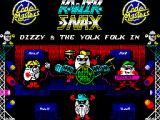 Kwik Snax ZX Spectrum Title screen (128k)