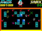 Kwik Snax ZX Spectrum Ice - collect all cherries to finish this level
