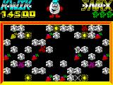 Kwik Snax ZX Spectrum Clouds - every level contains different fruits
