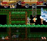 Mega Turrican Genesis The water is harmless - until it gets electrified by the electric eels.